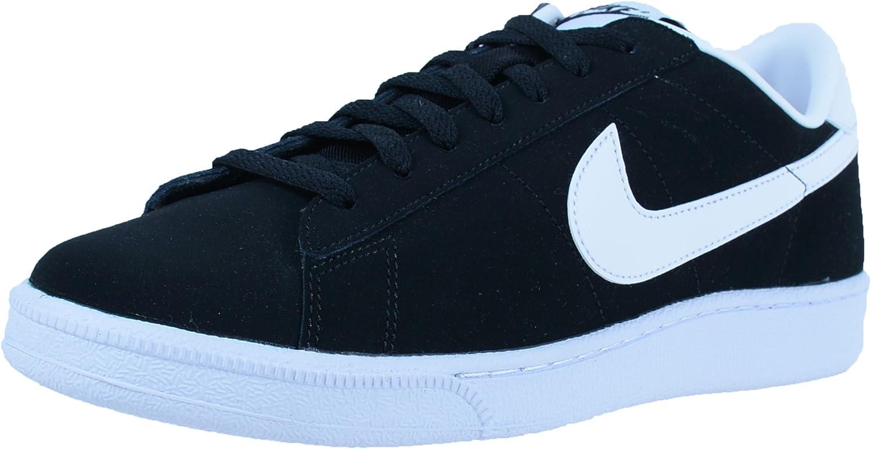 oyente Intercambiar Won  Amazon.com | Nike Tennis Classic Men US 10 Black Sneakers | Tennis &  Racquet Sports