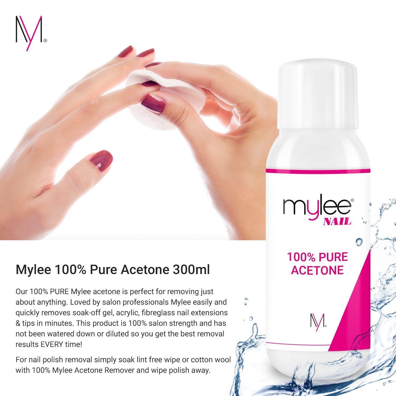 Mylee Aceton 100% Pure Nagellackentferner für Nägel hochwertigem ...