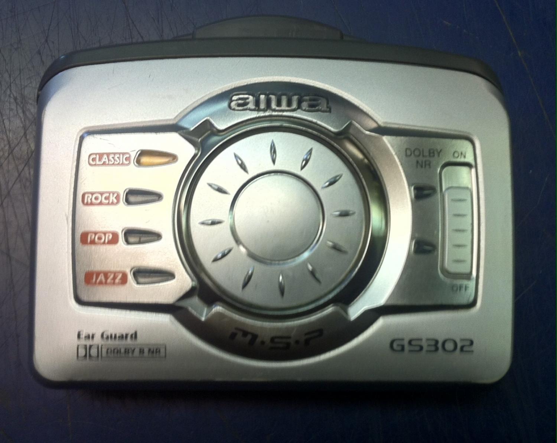 Aiwa Hsgs302Personal Stereo