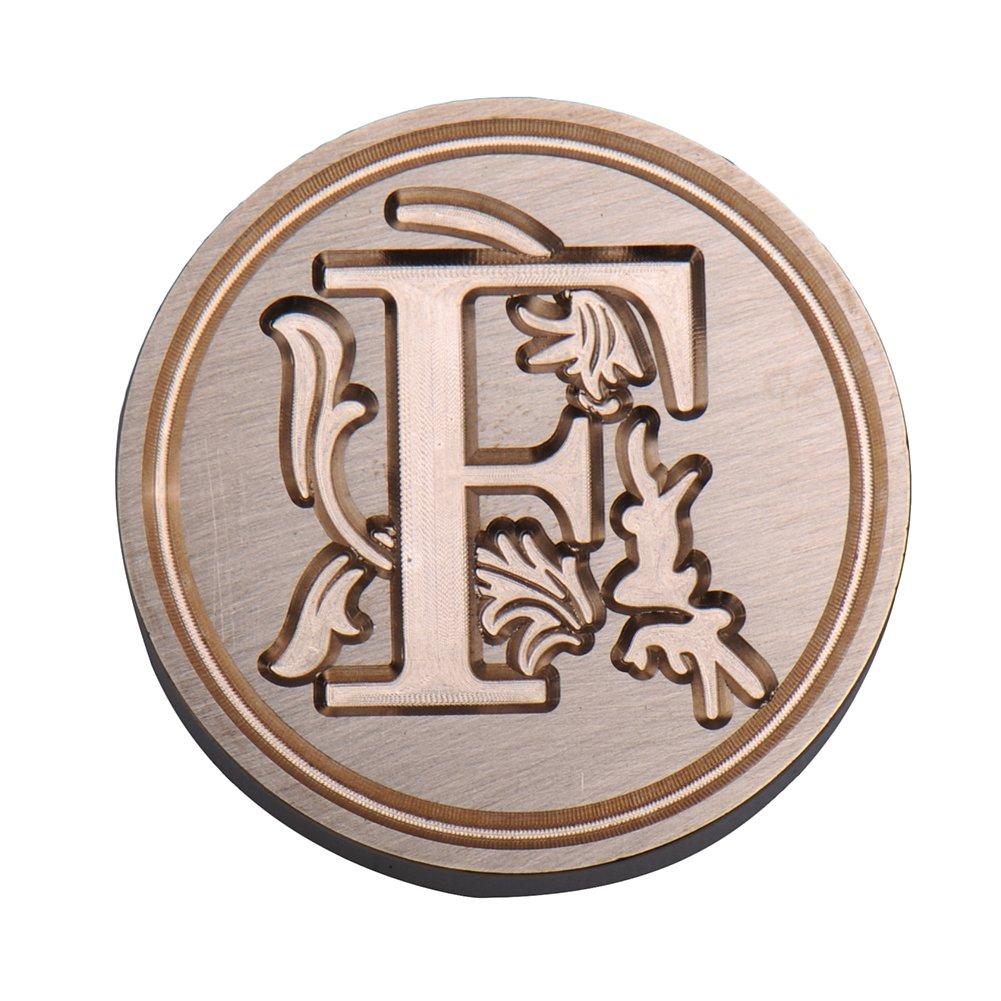Alfabeto de A a Z 26/letras color O LianLe Sello de cera cl/ásico retro