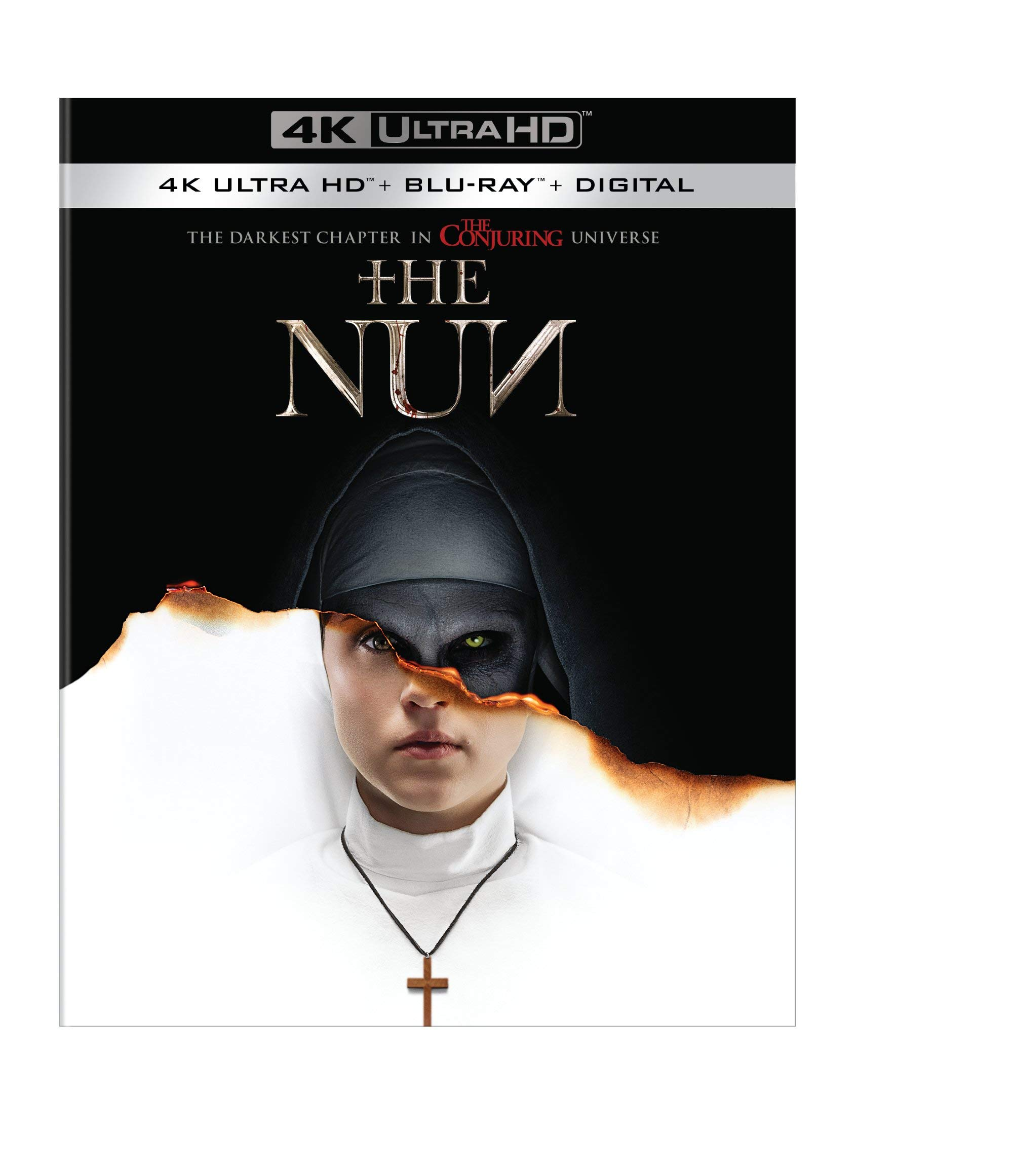 4K Blu-ray : The Nun (With Blu-ray, 4K Mastering, Digital Copy)