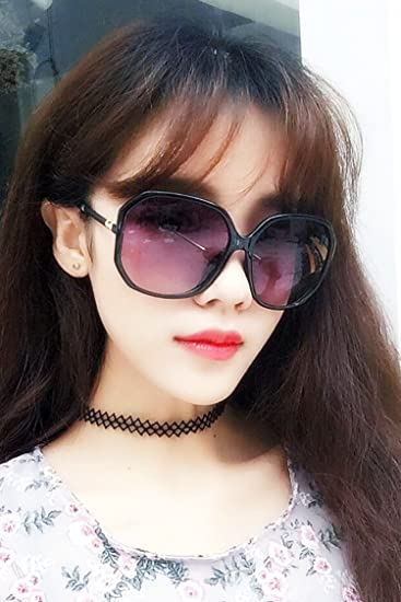 92ed56ab14 Amazon.com   Generic European big box gradient  retro  style  sunglasses   tide  women girls  couples