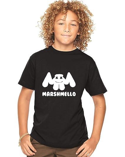KIDS LONG SLEEVE Marshmello T shirt DJ Mellow Dance House Music Tour DotCom EDM