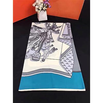 Foulard Foulard WY-d été de mode écharpe châle crème solaire plage foulards  impression décoration 74ab472c63f
