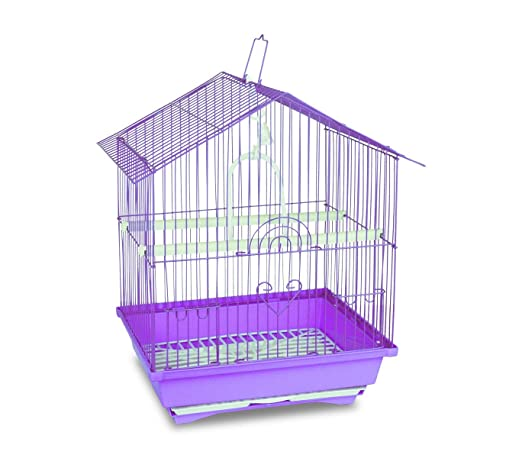 2 opinioni per 189085 Gabbia per uccelli di piccole dimensioni BIRD 43.5X28.5X22 cm due