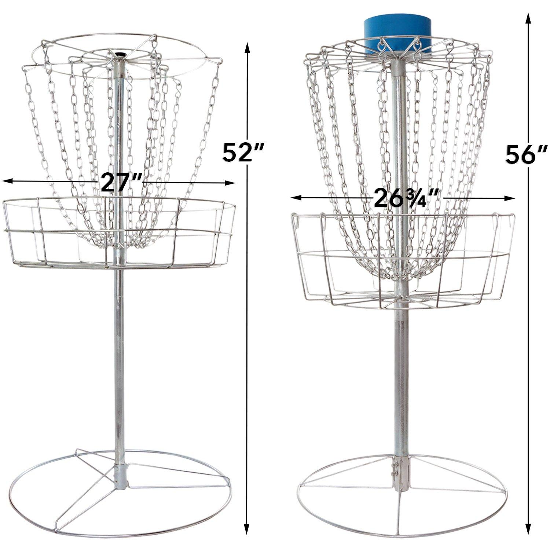 amazon com titan disc golf catcher basket target portable steel