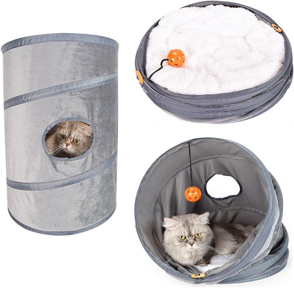 PetEnjoy - Jaula de Viaje Plegable para Mascotas, con aerolínea, para Gatos, Perros pequeños, Conejos
