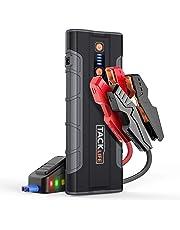 TACKLIFE T8 MAX Avviatore di Emergenza-12V Jump Starter 1000A Corrente di Picco, 20000mAh Avviatore Auto Portatile per Tutti i Motori a Benzina e Diesel 6.5L, Avviatore Batteria Auto