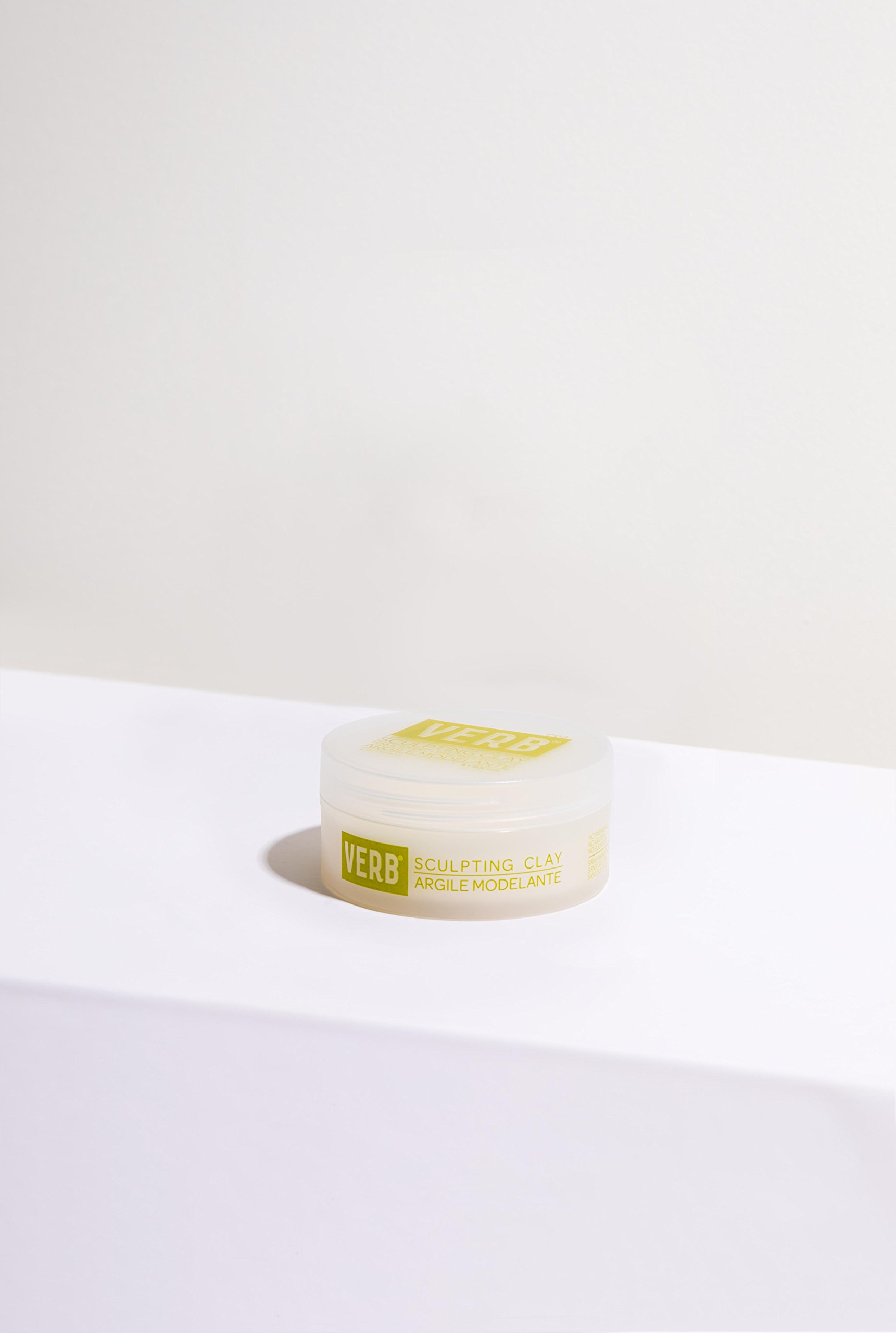 Verb Sculpting Clay - Flexible Hold + Subtle Shine 2oz by verb (Image #3)
