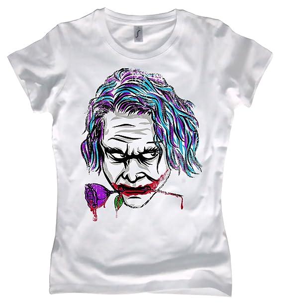 NG articlezz Camiseta para Señoras Joker Cara Why so Grave? Diferentes Colores Tallas S-XXL: Amazon.es: Ropa y accesorios