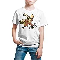 Camiseta Niño - Unisex Cómic - Dibujos Animación, Tintín