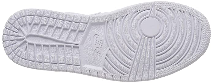 Nike Air Jordan 1 Low, Zapatillas para Hombre, Blanco Pure Platinum-White 109, 45 EU: Amazon.es: Zapatos y complementos