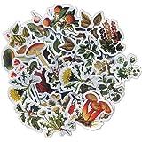 DESEACO 92PCS Cottagecore MiniSticker Seasonal Wild Plant, Aesthetic Flower Stickers Decals Sets for Scrapbooking, Phone cas