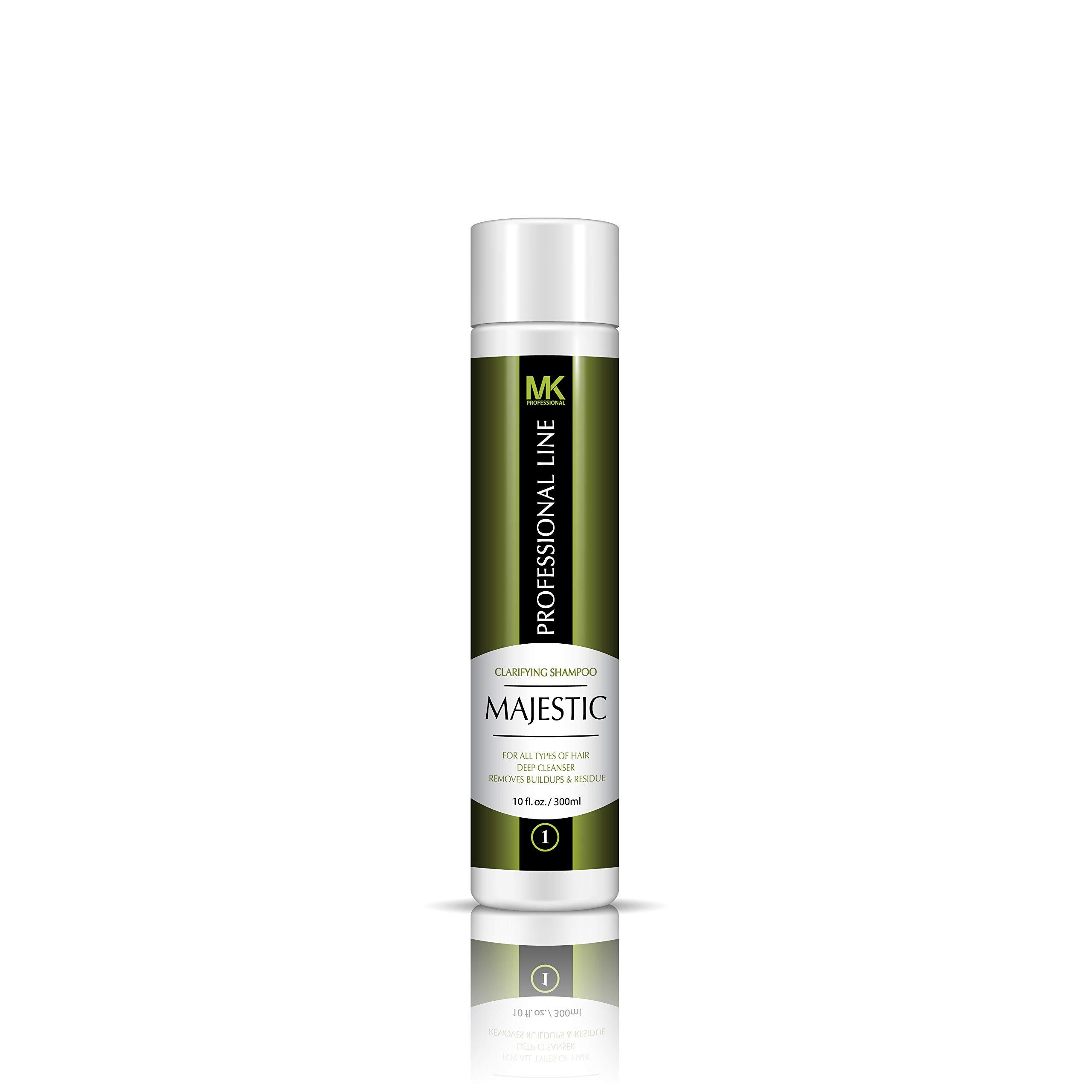 Majestic Clarifying Shampoo 10oz (300ml)- Before Treatment