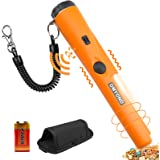 Metal Detector Pinpointer, Professional Waterproof Handheld Pin Pointer Wand, Search Treasure Pinpointing Finder Probe with 9