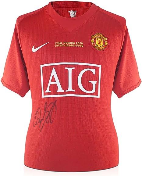 Ryan Giggs Firmado Camisa 2008 de Manchester United Champions ...