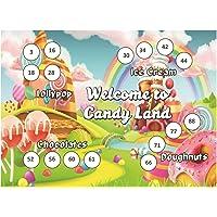 Craftgami - Candyland Theme Tambola Tickets - Housie Tickets (24 Tickets)