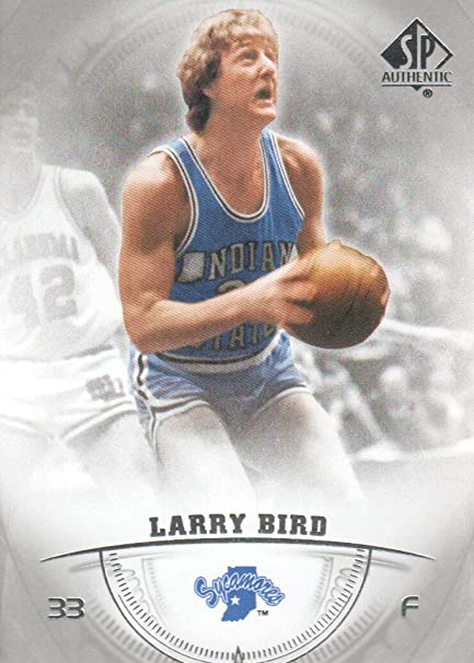wholesale dealer be194 c304e 2013-14 SP Authentic Basketball #10 Larry Bird Indiana State ...