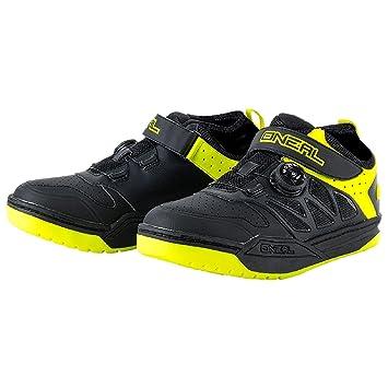 O'Neal Session SPD Pedal Fahrrad Schuhe Sneaker MTB BMX DH FR All Mountain Bike Downhill Sport, 323, Farbe Gelb, Gr??e 45