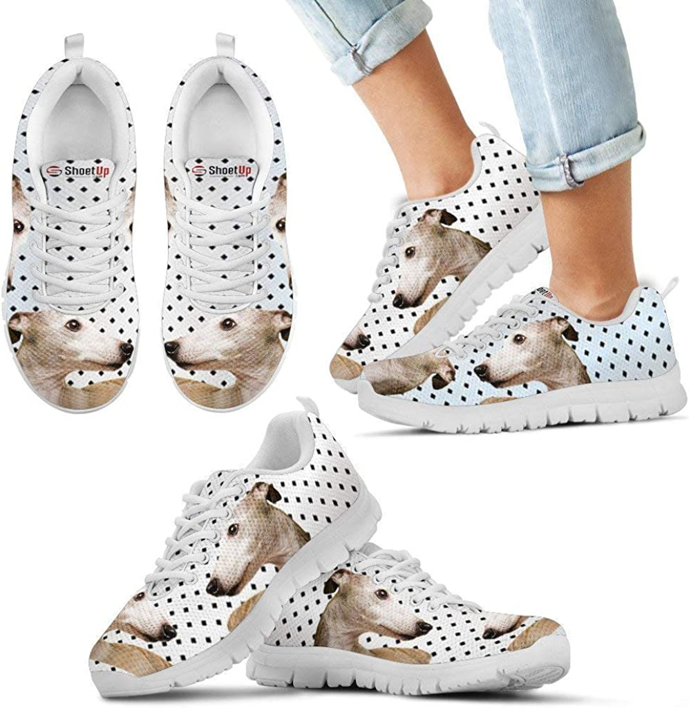Luto Home Whippet Black Dots Print Running Shoes Kids-Casual Comfortable Sneakers Running Shoes