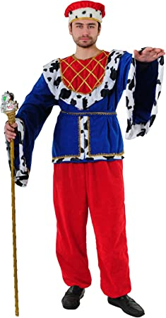 Stamco Disfraz de Rey de la Edad Media: Amazon.es: Juguetes y juegos