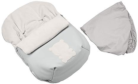 Tuc Tuc Love - Mini saco y capota, unisex, color gris