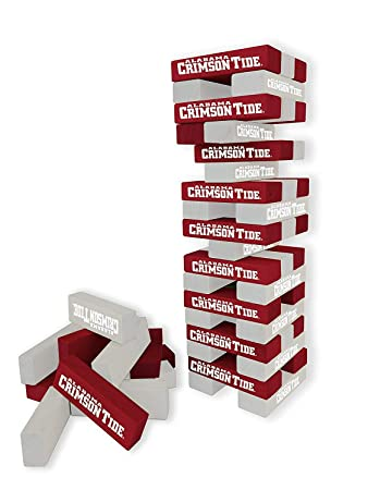 3 x 1 x .5 Wild Sports NCAA College Table Top Desk Stackers Game