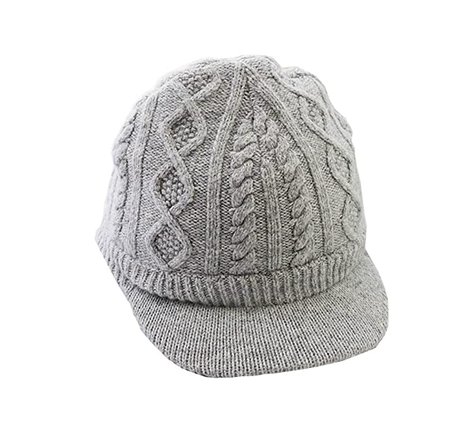 0852d7ff2a4 Amazon.com  MZLIU Baby Toddler Boys Winter Hat Knitted Visor Beanie ...