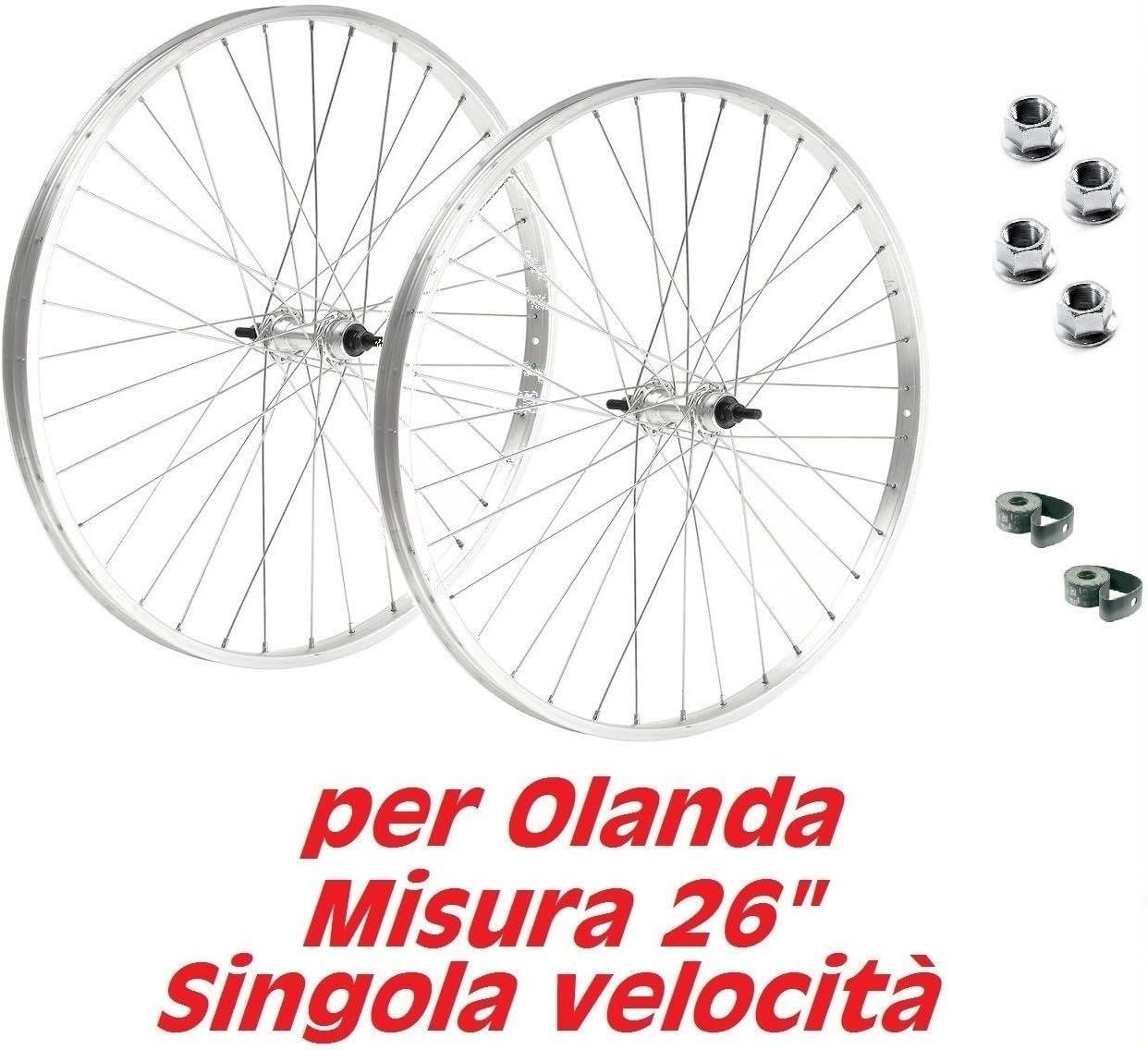 Par de ruedas para bicicleta holandesa, bicicleta clásica, tamaño ...