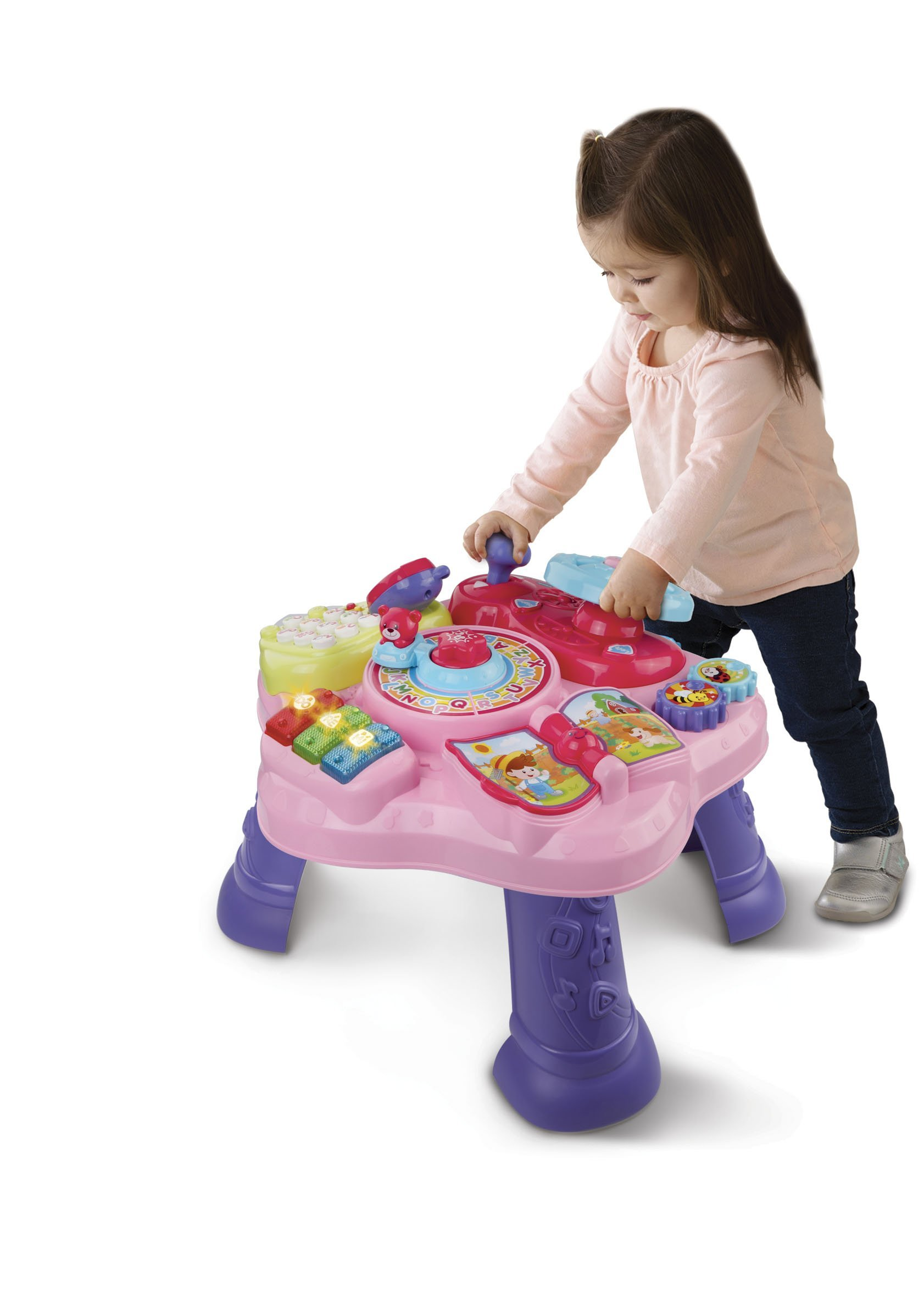 VTech Magic Star Learning Table, Pink (Frustration Free Packaging) by VTech (Image #4)