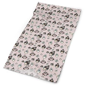 Headwear Headband Cartoon Pattern Head Scarf Wrap Sweatband Sport Headscarves For Men Women