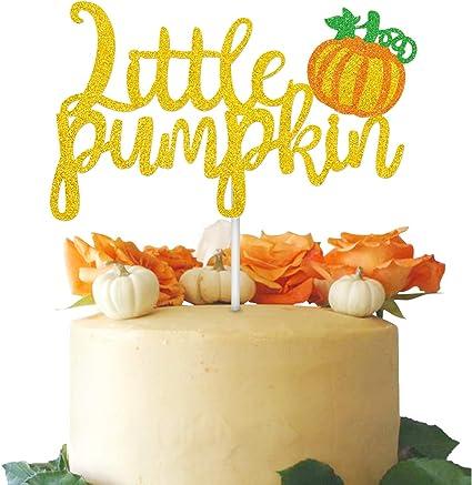 Peachy Amazon Com Faisichocalato Little Pumpkin Cake Topper For Fall Funny Birthday Cards Online Alyptdamsfinfo