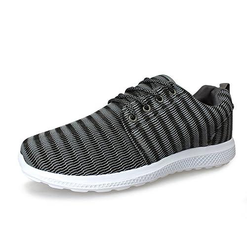 Hawkwell Running Zapatillas Ligero Deportivas Sneaker para Hombre: Amazon.es: Zapatos y complementos