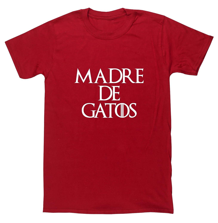 HippoWarehouse Madre de Gatos camiseta manga corta unisex: Amazon.es: Ropa y accesorios