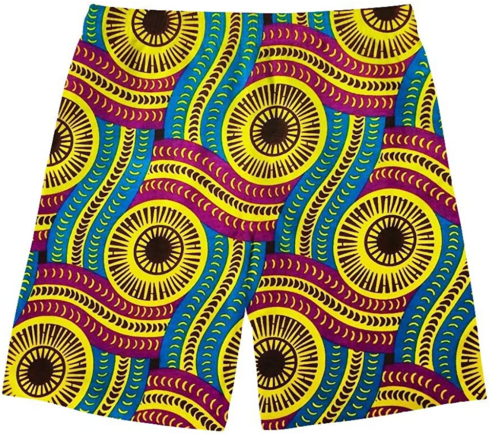 Salabomia Mens Beach Shorts Board Summer Swim Trunks with Pockets Sports Shorts