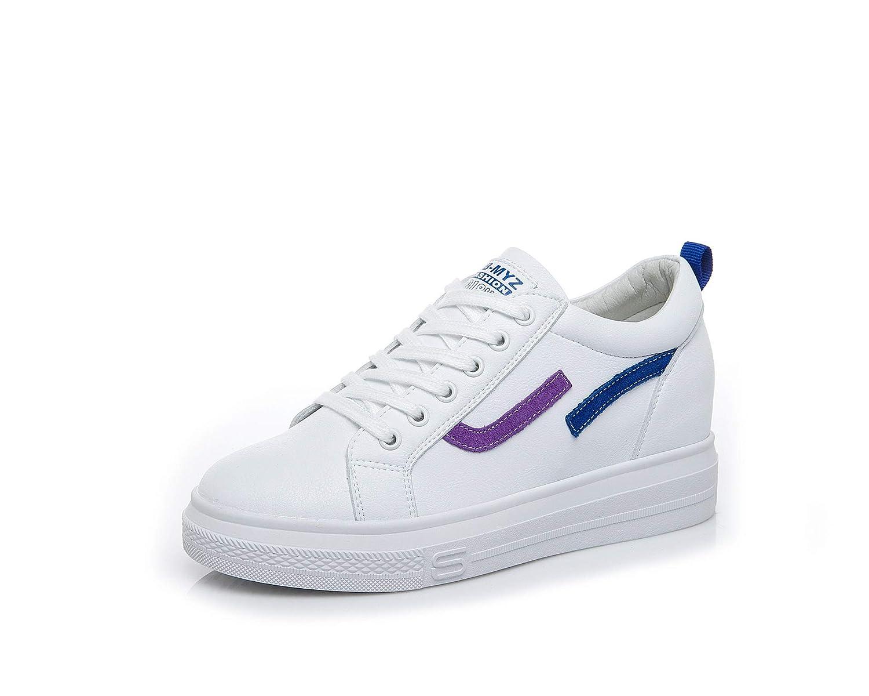 KPHY Damenschuhe Höhere Frauen-Schuhe Mode Mode Mode Studenten-Sport Blau 36 bda3e6