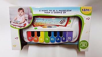 Pianola una batería con Piernas y Juego de mesa música de juguete de la primera infancia 962: Amazon.es: Juguetes y juegos