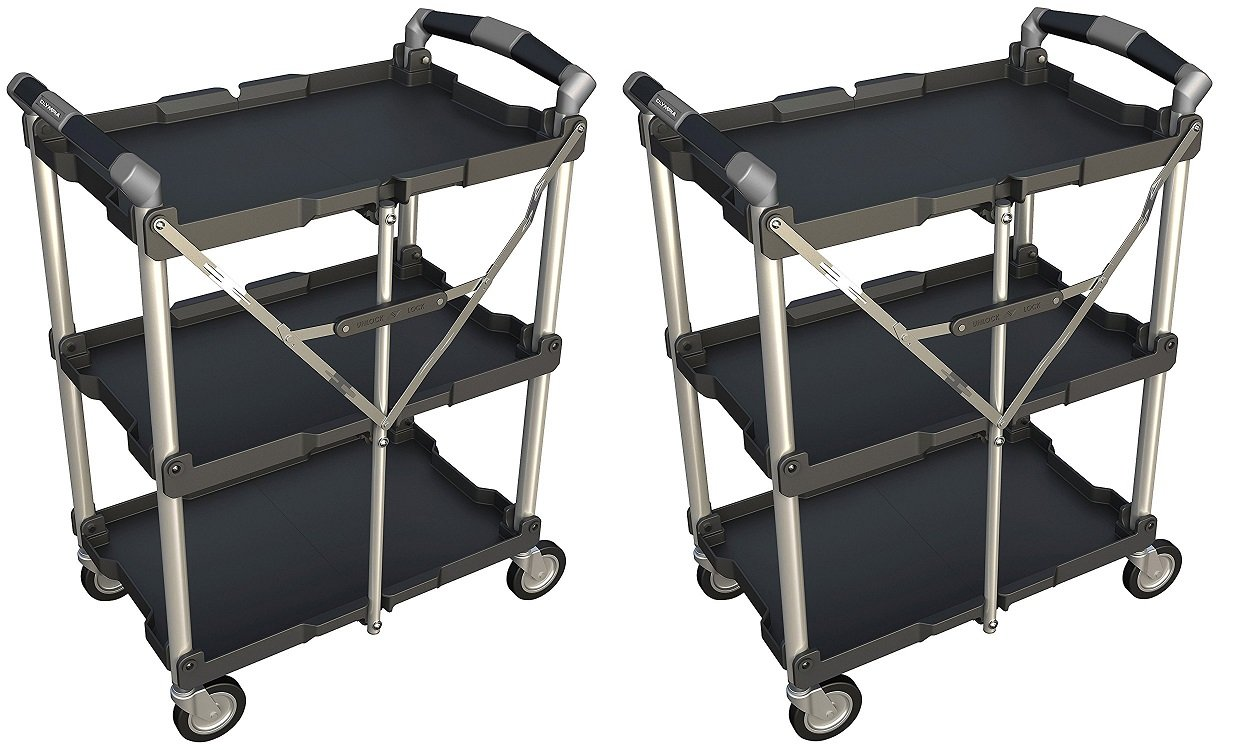 Olympia Tools 85-188 Collapsible Service Cart (.2 PACK)