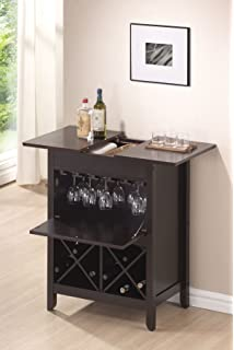 South Shore Furniture 11029 Vietti Bar Cabinet with Bottle and ...