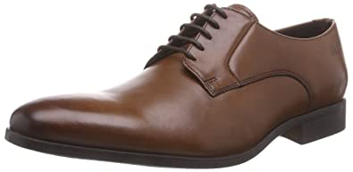 Clarks Broyd Walk, Derby Homme, Marron (Tan Leather), 45 EU