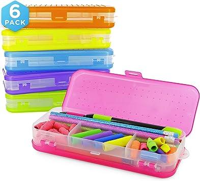 Estuche Para Organizar Lapices Colores Lapiz Pencil Case Teens School Supplies