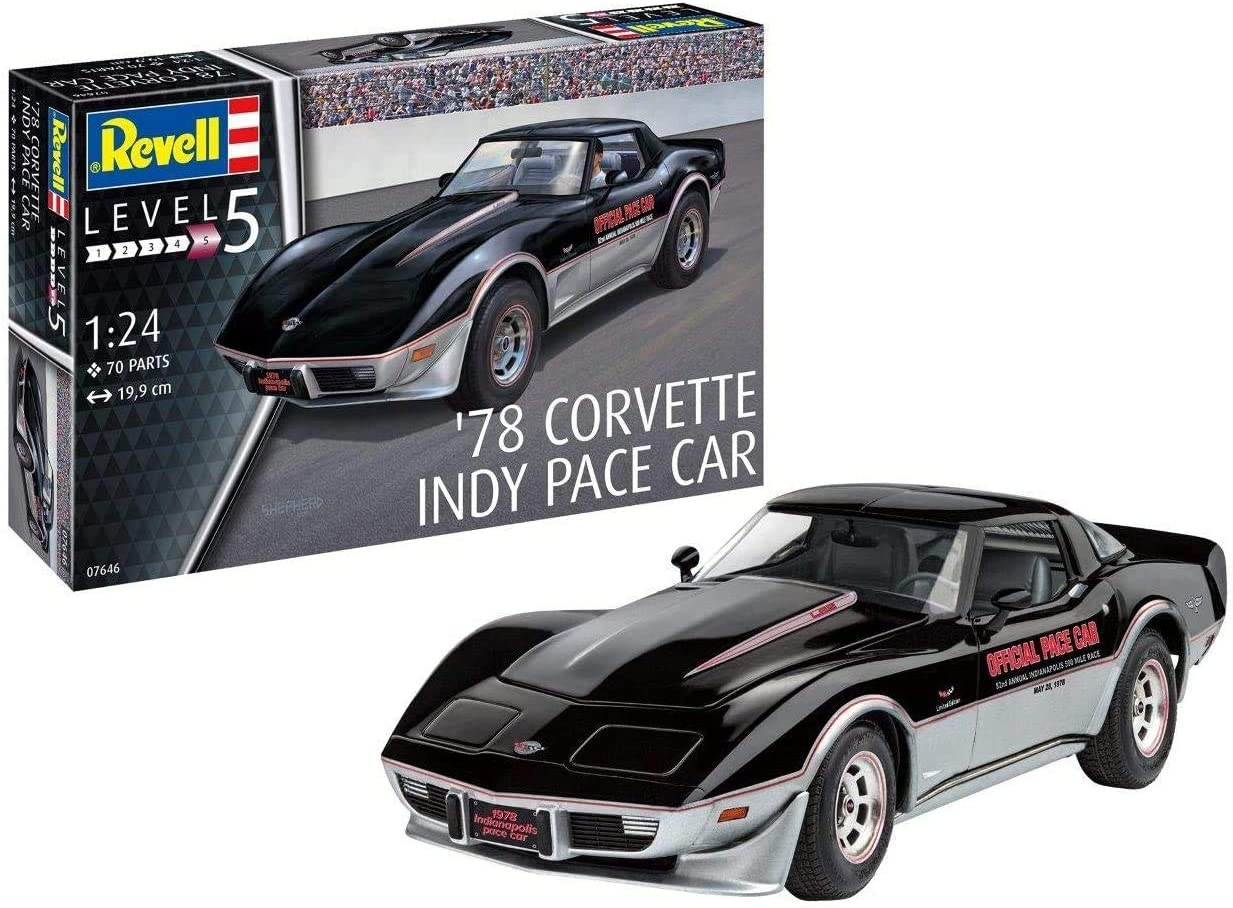Revell RV07646 '78 Corvette Indy Pace Car 1:24 Plastic Model kit