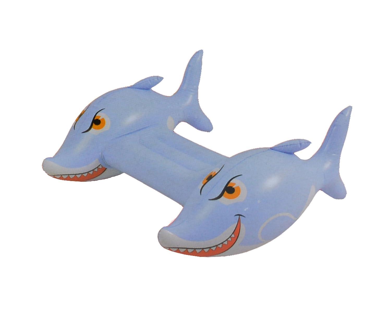 Tiburon hinchable para niños. Para patalear en la piscina o ...