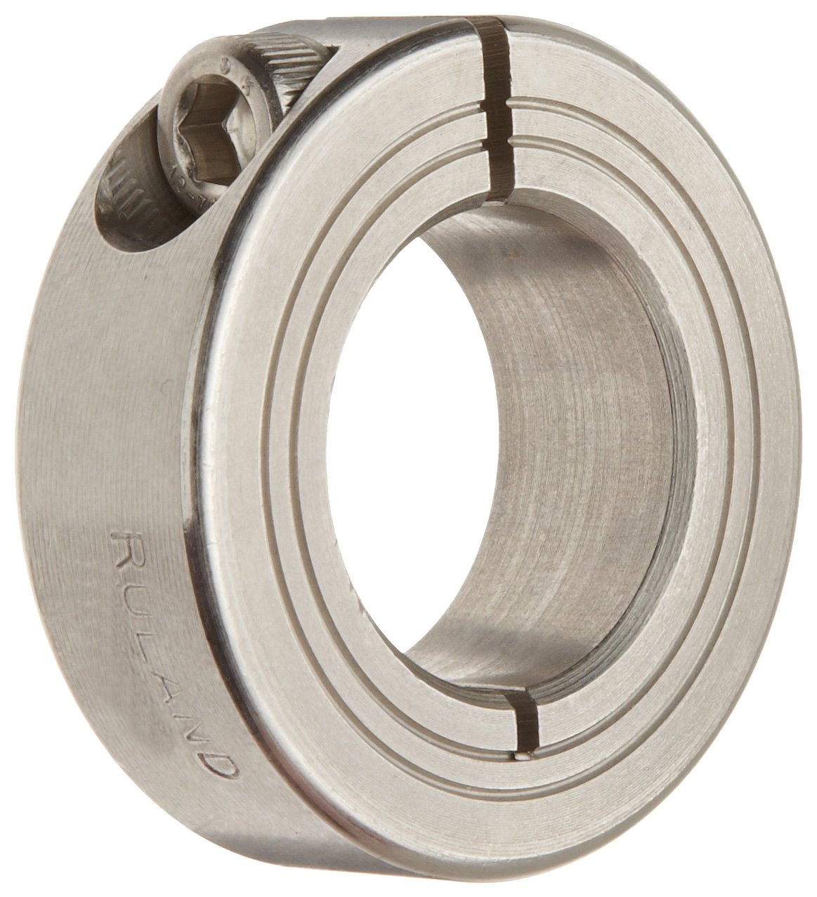 Ruland MCL-20-SS One-Piece Clamping Shaft Collar, Stainless Steel, Metric, 20mm Bore, 40mm OD, 15mm Width (Pack of 2) Ruland Manufacturing B0063KN8FU