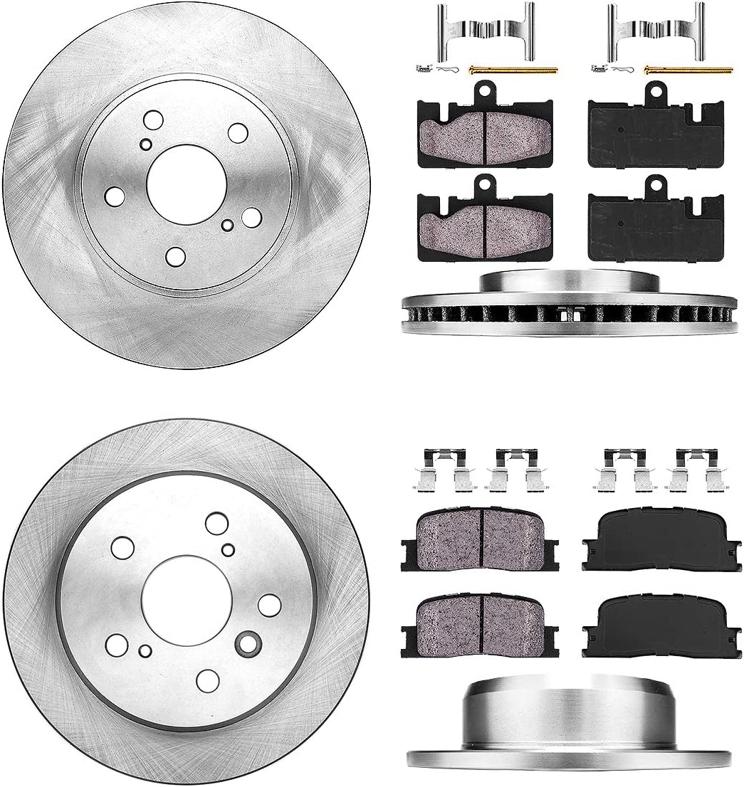 Front for Lexus ES300 Toyota Camry Brake Pad Set Bosch QuietCast BC906//D906