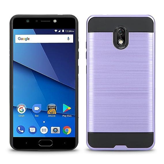 buy online 62fee 5387e Amazon.com: BLU Life One X3 Case, Shockproof Absorption Anti Scratch ...