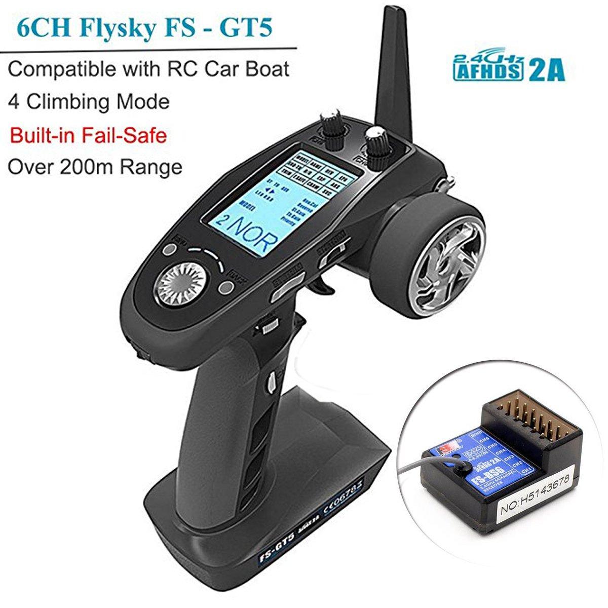 Transmisor Flysky 6CH AFHDS RC