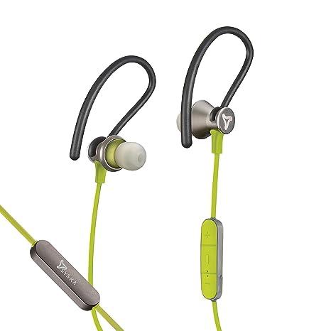 e3a4b155122 Syska Y5 Pro Active Wireless Earphone - Green: Amazon.in: Electronics
