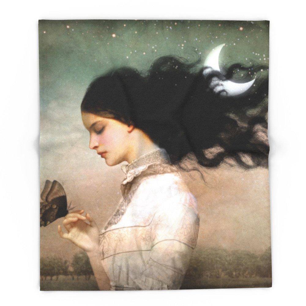 Society6 She Likes The Night 88'' x 104'' Blanket by Society6