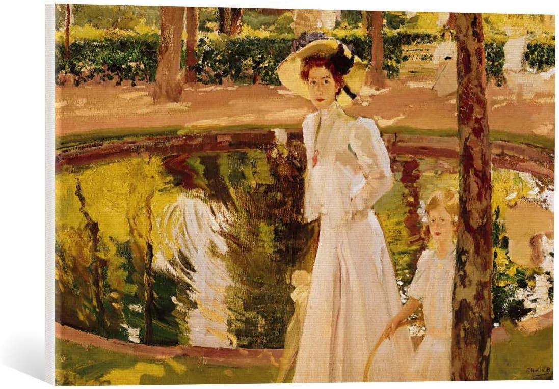 Kunst für Alle Cuadro en Lienzo: Joaquin Sorolla y Bastida The Garden 1913